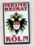"""Pin """"Meine Heimat Köln"""""""