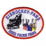 """Aufnäher """"Eishockey-Fans sind faire Fans"""""""