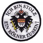 """Aufnäher """"Ich bin stolz, ein Kölner zu sein"""""""