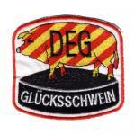 """Aufnäher """"DEG Glücksschwein"""""""